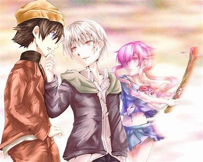 Diary Future Nikki Akise Mirai Aru Anime