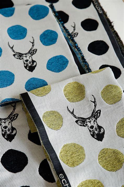 echino jacquard series kokka fabriccom  fun