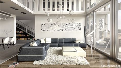 White Luxury Home Design Ideas Combined With Modern