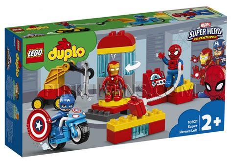 10921 LEGO® DUPLO Supervaroņu laboratorija, no 2+ gadiem ...