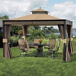 Home Depot Porch Cushions by Living Home 10 X 12 Gazebo Replacement Canopy Garden Winds