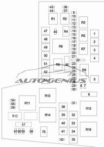 Mitsubishi Raider  2005 - 2009  - Fuse Box Diagram
