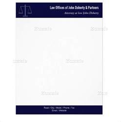 Law Office Letterhead Template