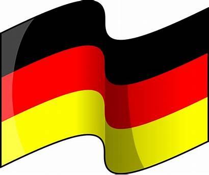 German Flag Germany Clip Cartoon Waving Clipart