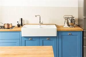 Spulstein in shaker kuche landhausstil koln von for Spülstein küche