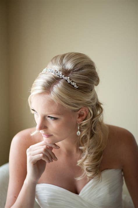 Bridal Headband, Tiara, Freshwater Pearl And Crystal