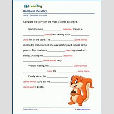 Grade 2 Grammar Worksheets  K5 Learning