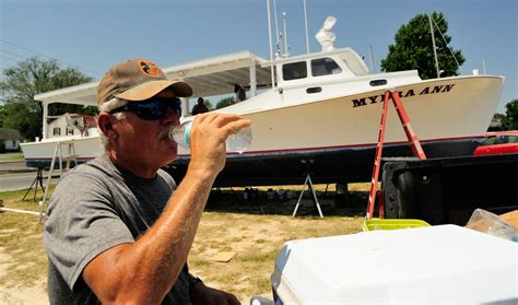How To Work On A Crab Boat by On The Prepping A Crab Boat Maryland Sea Grant