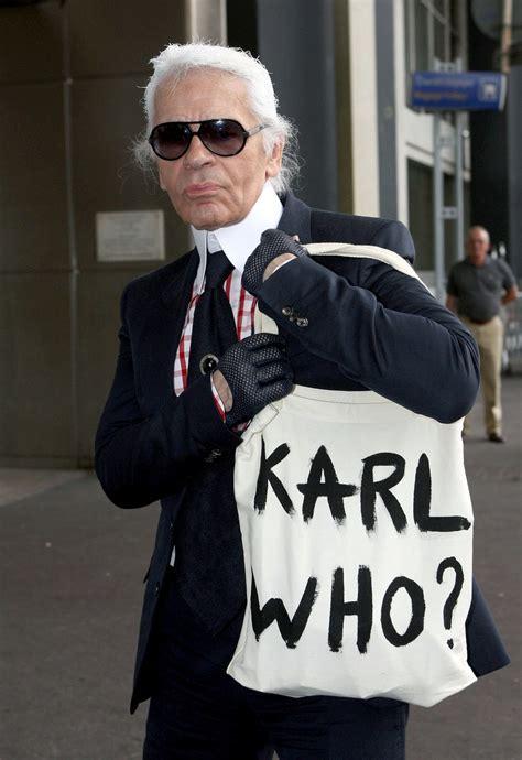 His name is Karl. Kaiser Karl. (Lagerfeld). | AFFASHIONATE.COM