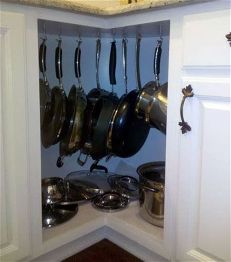 pots and pans rack cabinet pot rack cabinet i already keep my pots pans in a corner