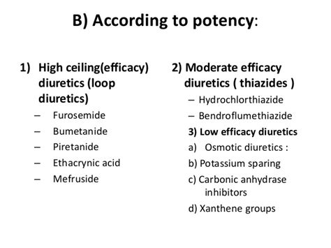 high ceiling diuretics drugs 5diuretics class