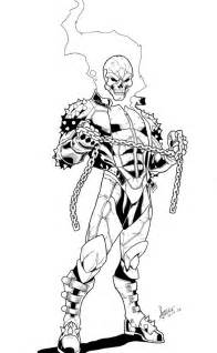 Ghost Rider Drawings