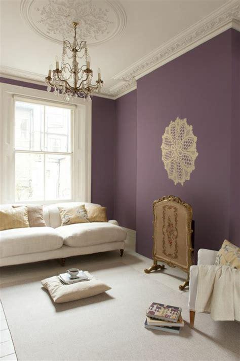 canapé couleur prune couleur de mur pour salon meilleures images d