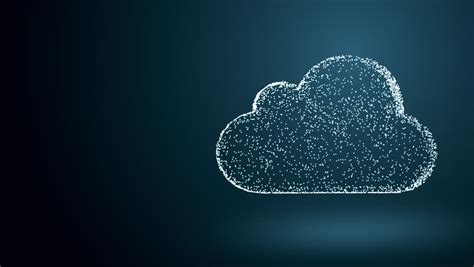 cloud computing   chaotically stock footage video