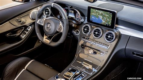 The sedan's exterior styling is relatively subdued, and i'd personally prefer an interior that speaks to the same levels of discretion. 2017 Mercedes-AMG C63 S Cabriolet - Interior, Cockpit | HD Wallpaper #77