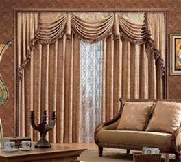 Fancy Curtains Living Room Photo