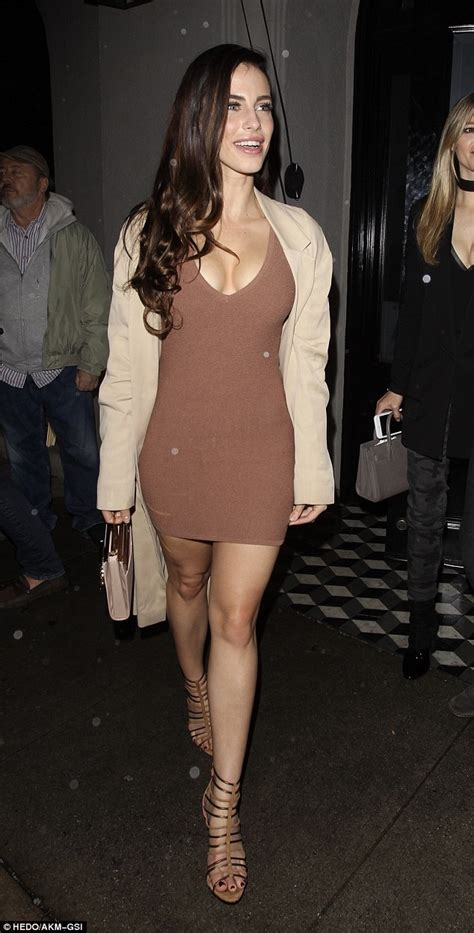 Jessica Lowndes flaunts her cleavage as she enjoys night ...