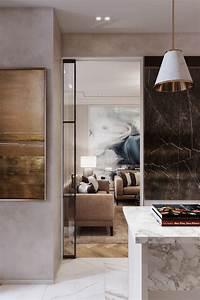 2, Bedroom, Apartment, Interior, Design, On, Behance