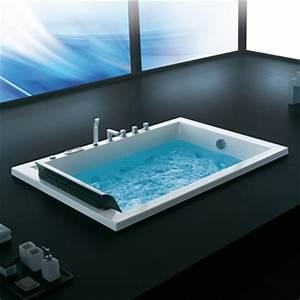 Baignoire 2 Places Balneo : baignoire massante ~ Edinachiropracticcenter.com Idées de Décoration