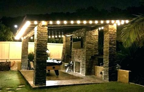 Outdoor Patio Small String Lights Lighting Outside Bulb