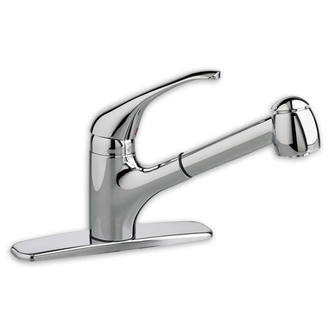 Pullout Kitchen Faucet by American Standard 4205 104 Reliant Plus Pull Out Kitchen