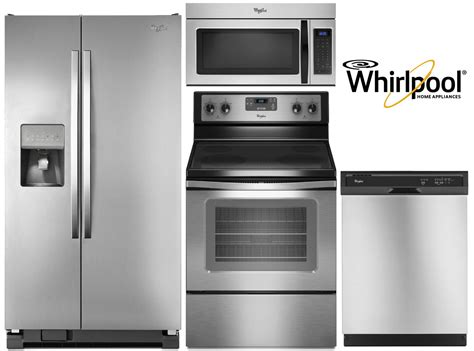 Appliance Packages 3 Piece Stainless Steel Appliance Package