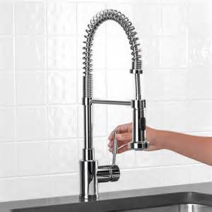 Professional Kitchen Faucets Blanco Meridian Semi Professional Kitchen Faucet White Gold
