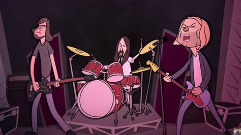 mini nirvana animated  video tribute toon boom