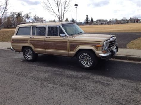 jeep wagoneer 1990 sell used 1990 jeep grand wagoneer 4x4 locking hubs in
