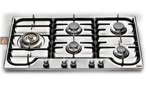 cuisine molteni plaque de cuisson en inox gaz 90 cm inox encastrable 5