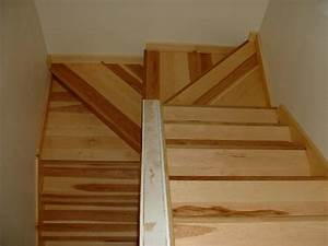 Stair Inspiring Double Winder Stair Design With Oak Wood