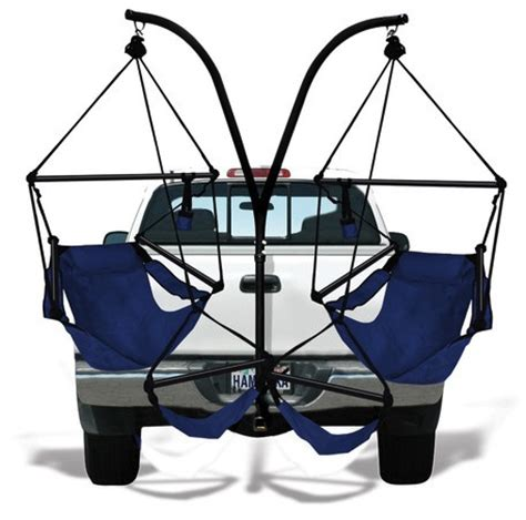 Trailer Hitch Hanging Chairs by Hammaka Trailer Hitch Hammock Chair Stand Craziest Gadgets
