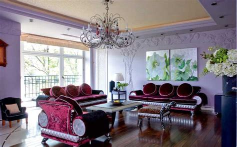 plum sofa decorating ideas lilac and plum violet living room with luxury sofas and