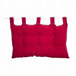 Tete De Lit Rouge : t te de lit rouge linge de lit eminza ~ Teatrodelosmanantiales.com Idées de Décoration