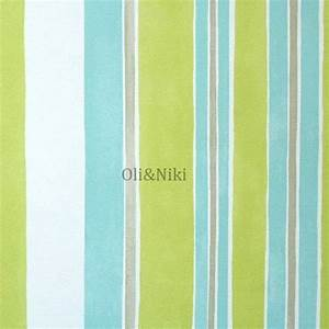 Tapete Streifen Grün : tapete streifen gr n t rkis im shop von oli niki ~ Sanjose-hotels-ca.com Haus und Dekorationen
