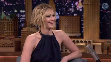 Jennifer Lawrence And Jimmy Fallon Tried To Dance With J