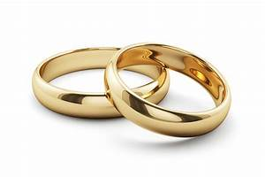 Picture of two wedding rings for Two wedding rings