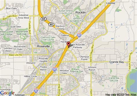 roseville map
