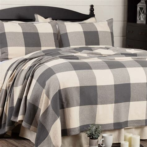 Grey Coverlet by Gray Coverlet Blanket Piper Classics