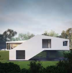 House Plans Walkout Basement Hillside by Futuristic Countryside Home In Southern Germany Modern
