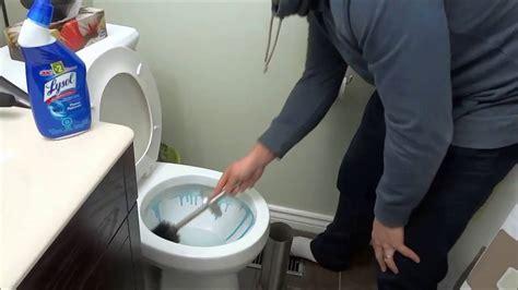 clean  toilet tutorial  cleaning  bathroom