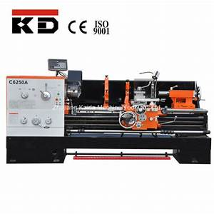 China Metal Gap Bed Harden Manual Engine Lathe Machine