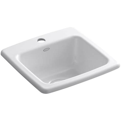 Home Depot Drop In Bar Sink by Kohler Gimlet Drop In Acrylic 15 In 1 Single Bowl