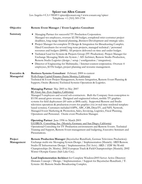 Career Objective In Resume Sle by Sle Resume Objective For Any Position 11682 Sle Resume