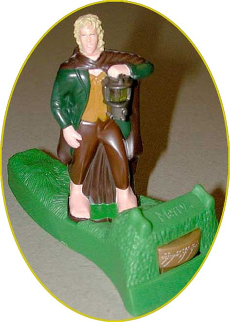 Amazon Com Burger King The Lord Of The Merry Lord Of The Rings Burger King Toys 2001