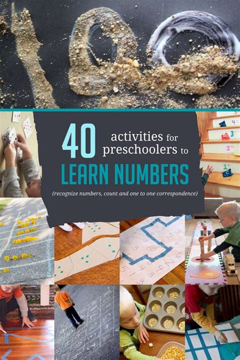40 awesome number activities for preschoolers 405 | number activities preschoolers 20160302 2