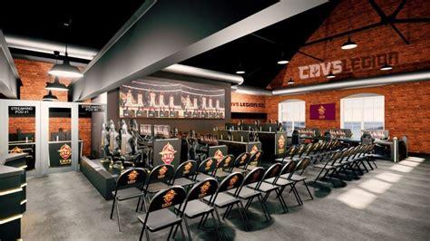 cavs legion gaming club  construct  esports facility