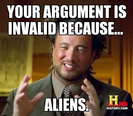 Internet Meme Wiki - image argument ancient aliens jpg the fallout wiki fallout new vegas and more