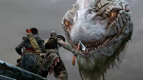 god  war el ultimo trailer  corria sobre una ps pro