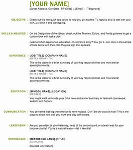 Resume Example Free Basic Resume Templates Basic Resume
